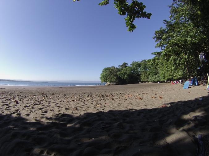 Playa de Batu Karas, ideal para aprender a surfear