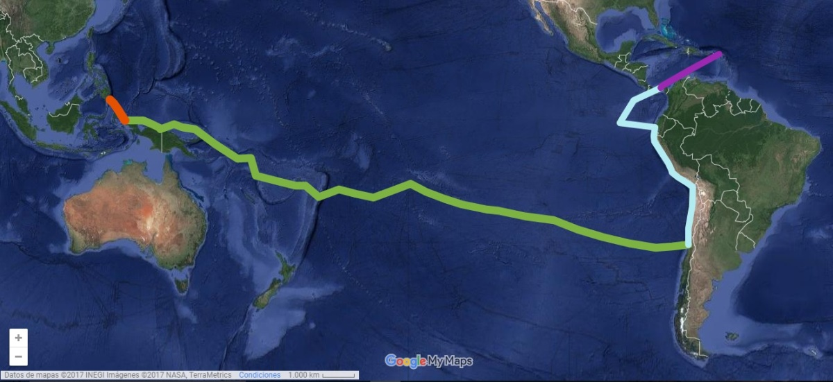 La Ruta del Pacífico